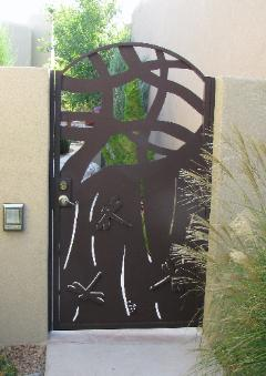 DRAGONFLY ABSTRACT GATE