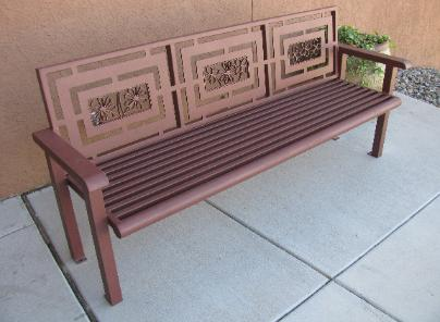 memorial church bench