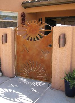 agave sunburst gate