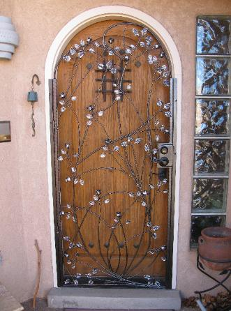 ROSE VINE DOOR