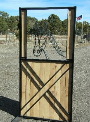 horse stall gate